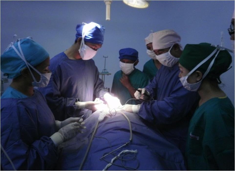 Social Service Tual, South Maluku Thyroid, Cleft Lip Surgery (4)