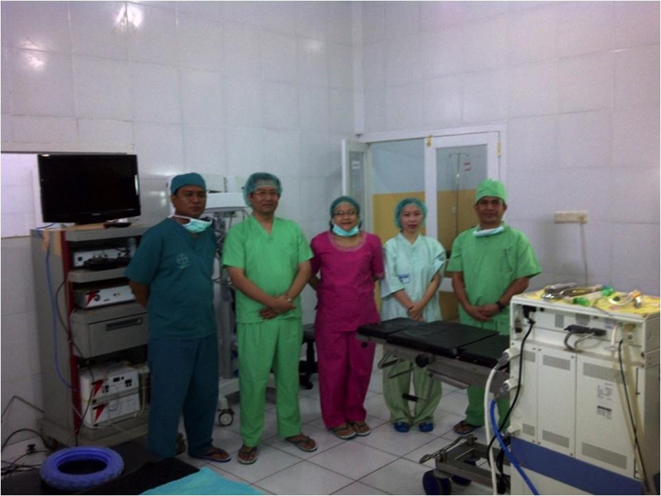 Social Service Nusa Tenggara Barat Mastoid Surgery