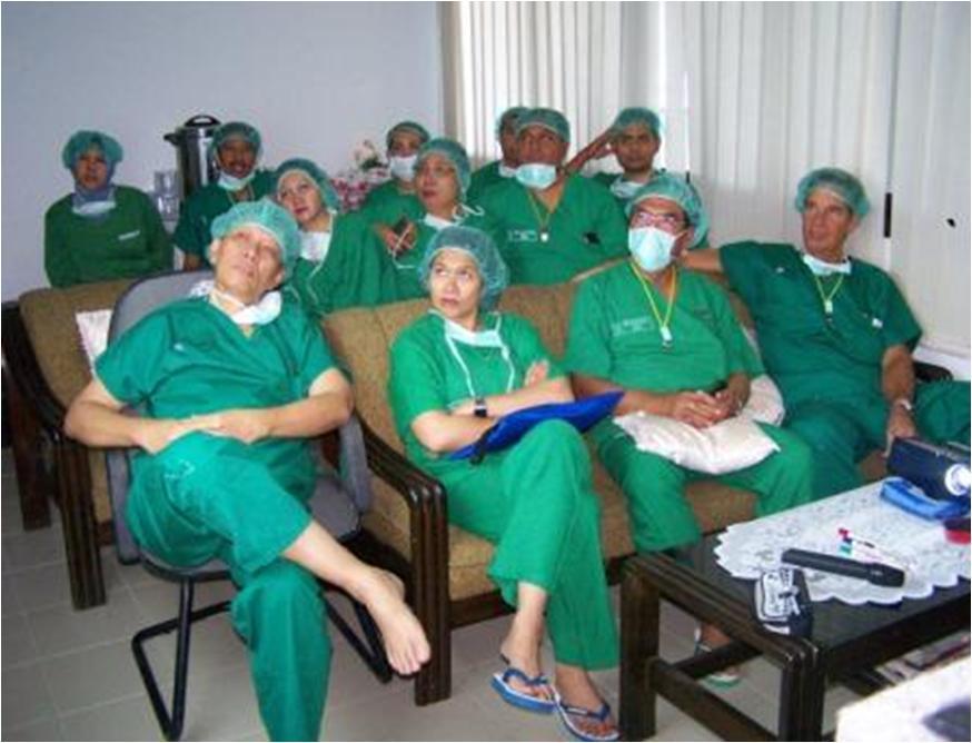Social Service Tual, South Maluku Thyroid, Cleft Lip Surgery (5)