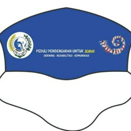 Masker Kain tema World Hearing Day