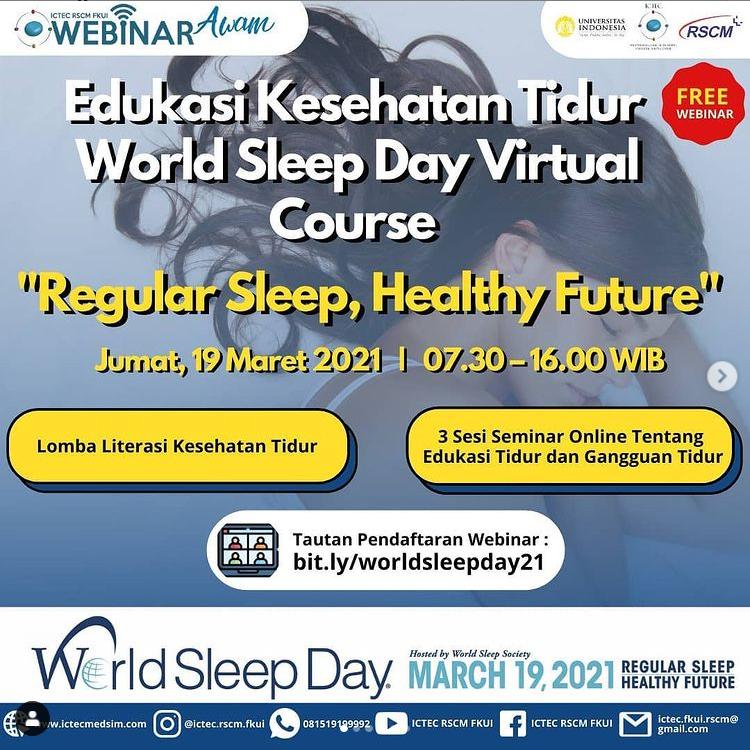 World Sleep Day Virtual Course
